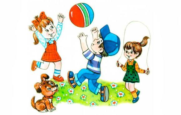 В течение дня дошкольнику необходимы подвижные игры