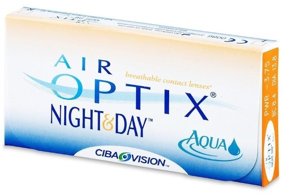 Контактные линзы Аir Optix Night and Day Aqua