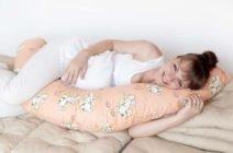 Позы для ночного и дневного сна при беременности