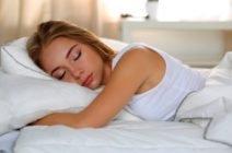 Правильное направление головы во время сна