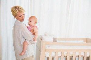Регресс сна у детей до года
